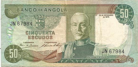 Angola  ANBN0500097984 50 Escudos 1972