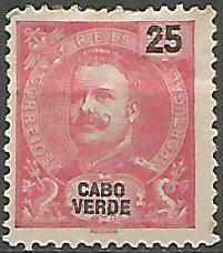 Cabo Verde CVS0010011903 Correios de Portugal