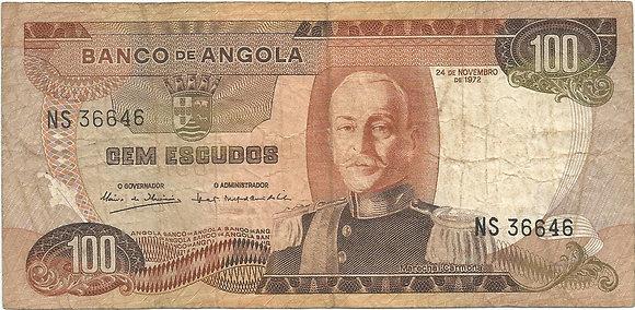 Angola  ANBN1000156646 100 Escudos 1972