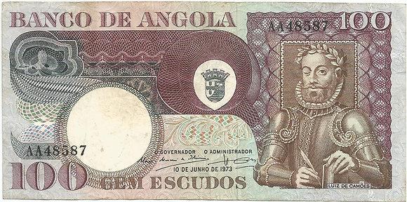 Angola  ANBN1000118587 100 Escudos 1972