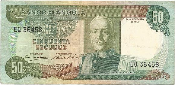 Angola  ANBN0500046458 50 Escudos 1972