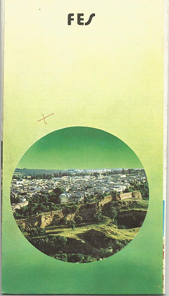 Marroco Tourism Brochures MATB003 Fes