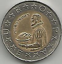 Portugal PT1021991 100 Escudos 1991