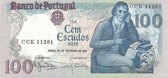 Portugal PTBN100.006.1201 100 Escudos 1981