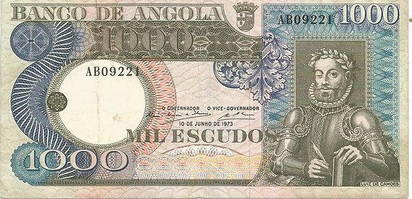 Angola ANBN10000039221 1000 Escudos 1973