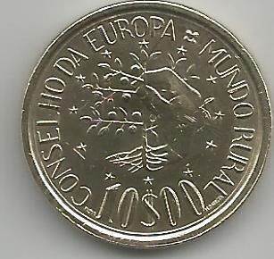 Portugal PT01061987A 10 Escudos 1987