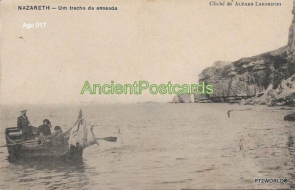 Portugal Ago PTLE0171910 Leiria Nazaré 1910