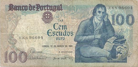 Portugal PTBN1000206604 100 Escudos 1985