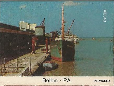 Brasil MatchBoxes BRMB043 Belém PA