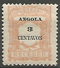 Angola ANS0030011911 Correios de Portugal