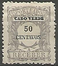 Cabo Verde CVS0030011921 Correios de Portugal