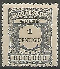 Guine Bissau GUS0030011921 Correios de Portugal