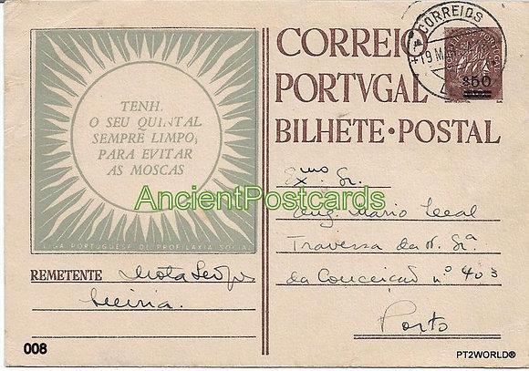 Bilhete Postal PT008/54 - Liga Portuguesa de Profilaxia Social