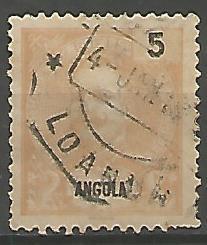 Angola ANS0020011898 Correios de Portugal