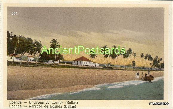 Angola ANP361 Loanda