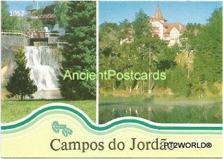 Brasil Postcards BRP1057 Campos do Jordão