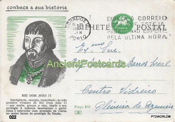 Bilhete Postal PT022/58 - Conheça a sua Historio