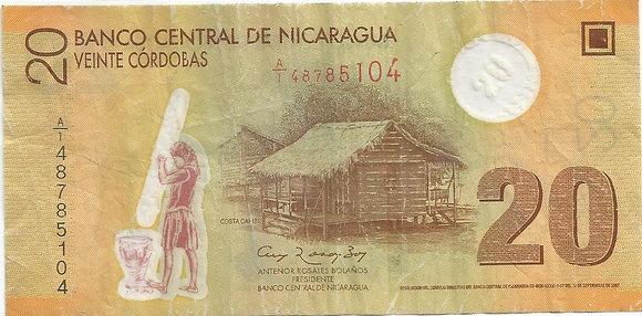 Nicaragua BankNotes NICBN008.85104 50 Cordobas 2007