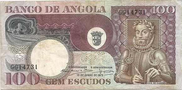 Angola  ANBN1000124731 100 Escudos 1972