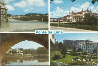 Portugal PTVC1604 Viana do Castelo Ponte de Lima