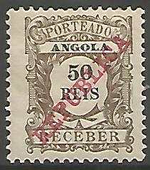 Angola ANS0060011911 Correios de Portugal