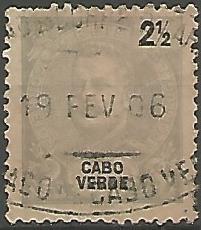 Cabo Verde CVS0010011898 Correios de Portugal