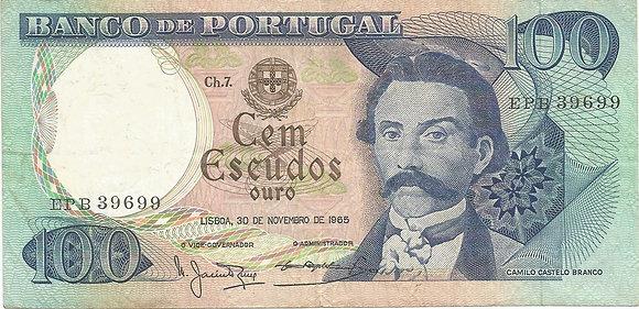 Portugal PTBN1000139699 100 Escudos 1965