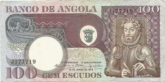 Angola  ANBN1000137719 100 Escudos 1972