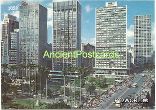 Brasil Postcards BRP1058 S. Paulo