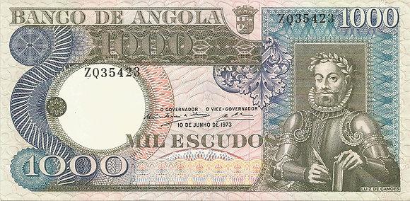 Angola ANBN10000045423 1000 Escudos 1973
