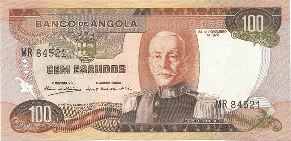 Angola  ANBN1000074521 100 Escudos 1972