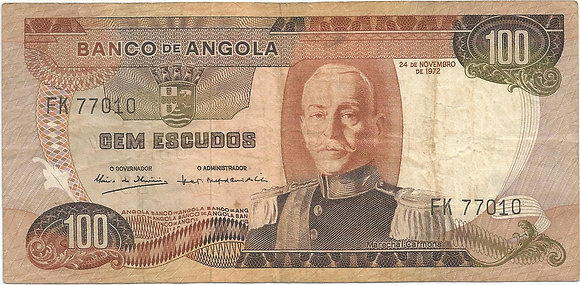 Angola  ANBN1000147010 100 Escudos 1972