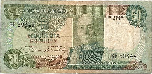 Angola  ANBN0500089344 50 Escudos 1972