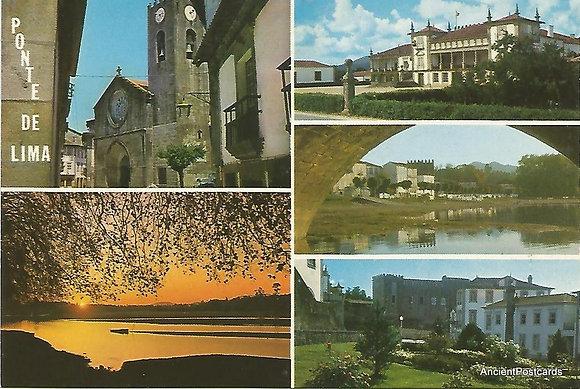 Portugal PTVC1760 Viana do Castelo Ponte de Lima