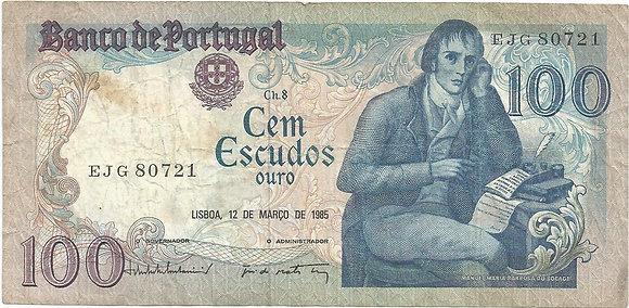 Portugal PTBN100.031.0721 100 Escudos 1985