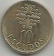 Portugal PT01181999 10 Escudos 1999