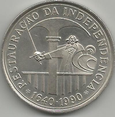 Portugal PT1081990 100 Escudos 1990