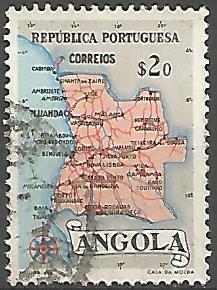 Angola ANS0010011955 Correios de Portugal