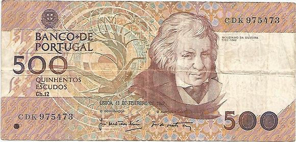 Portugal PTBN500.008.5473 500 Escudos 1992