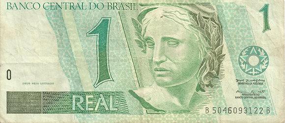 Brasil BankNotes BRBN0036093122 1 Real