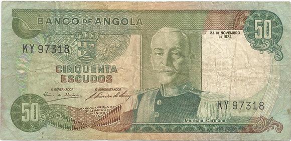 Angola  ANBN0500107318 50 Escudos 1972