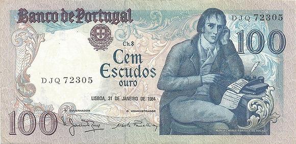 Portugal PTBN100.016.2305 100 Escudos 1984