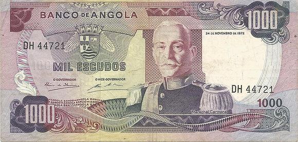 Angola  ANBN10000014721 1000 Escudos 1972