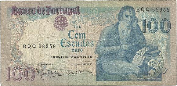 Portugal PTBN100.022.8958 100 Escudos 1981