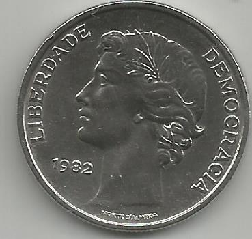 Portugal PT025051982 25 Escudos 1982