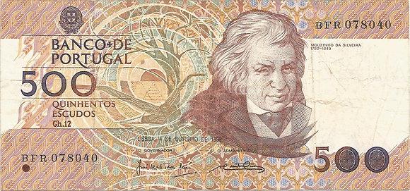 Portugal PTBN500.005.8040 500 Escudos 1989