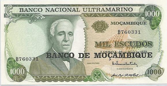 Moçambique MBBN10000010331 1000 Escudos 1972
