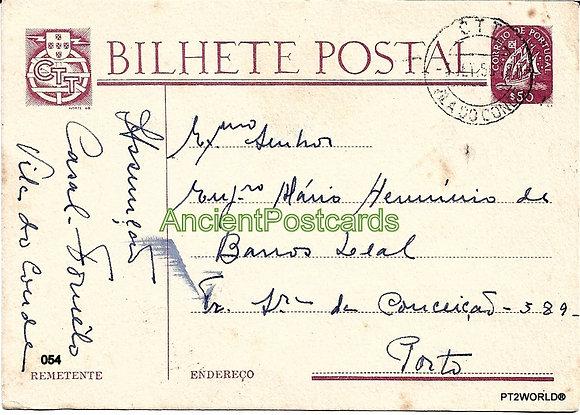 Bilhete Postal PT054/56