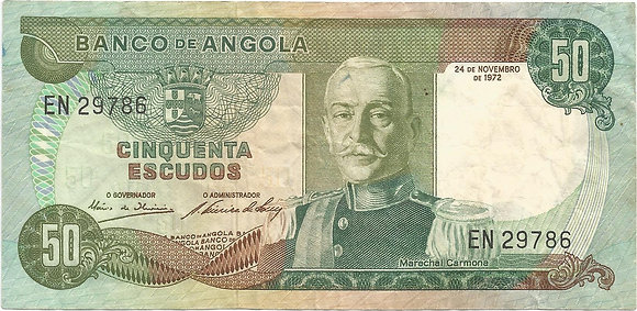 Angola  ANBN0500039786 50 Escudos 1972