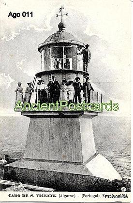 Portugal Ago PTSA011908 Algarve Sagres 1908